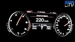 Autobahn Test - Audi A6 2.0TDI (177hp) Multitronic (1080p FULL HD)