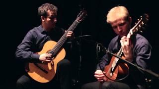 A. Piazzolla - Tango Suite: Allegro by Woch&Guzik Duo