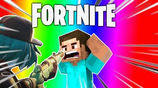 Fortnite but we're cracked... and MineCraft MTV cribs