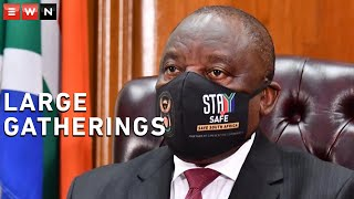 President Cyril Ramaphosa addressed the nation on Wednesday to give an update on the status of COVID-19 in South Africa. He spoke of his concern of big parties and shebeens, where no social distancing or wearing of masks took place.