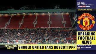 Beware of The Solskjaer Scam! Should we BOYCOTT Manchester United?