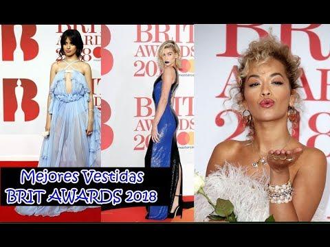 Mejores Vestidas BRIT AWARDS 2018(Camila Cabello, Little Mix, Dua Lipa..) #TodoPorUnSueño
