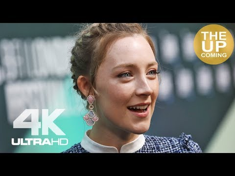 Saoirse Ronan interview at On Chesil Beach premiere for the London Film Festival