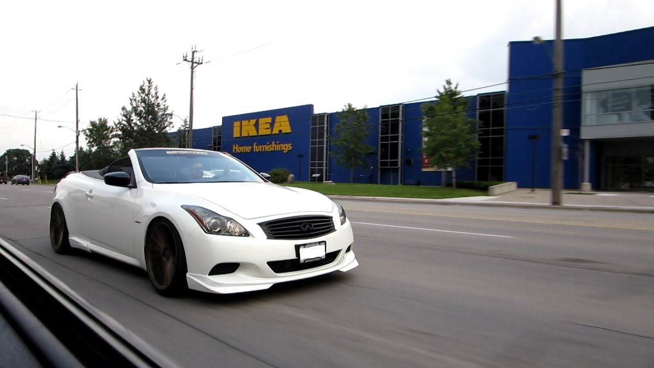 Infiniti g37 w exoticspeed exhaust headers testpipes youtube vanachro Choice Image