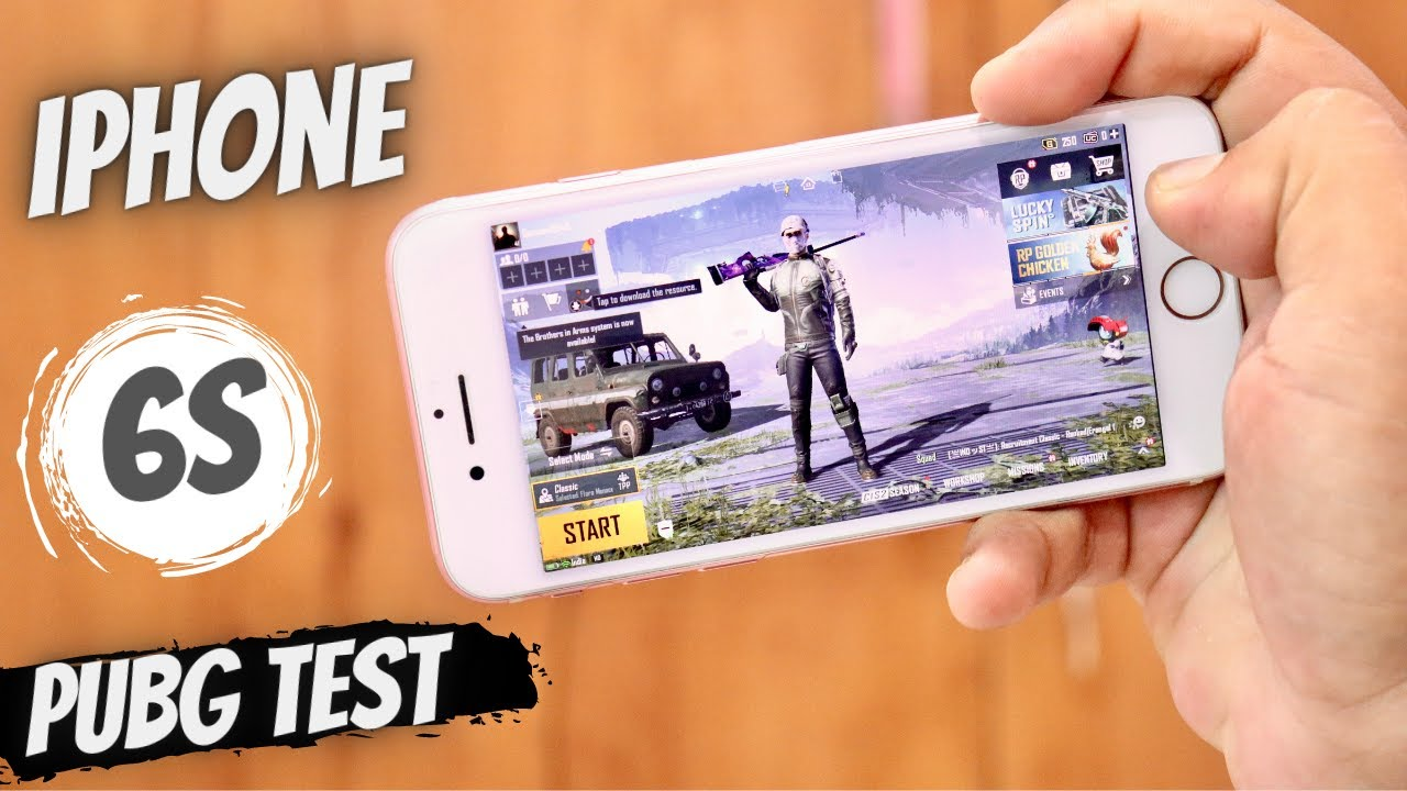 iphone 6s pubg experience | iphone 6s pubg test | iPhone 6s battery life