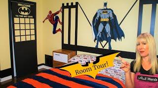 Batman Mural - Behind the Scenes Tour