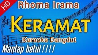 Keramat - Rhoma Irama - Karaoke dangdut, Nada Cowok