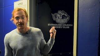 Take a tour of the Syracuse locker room with Matt Taormina