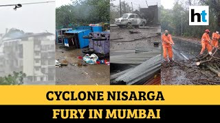 Cyclone Nisarga: Rooftops blown away, trees uprooted, vehicles damaged