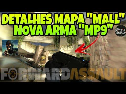 """FWD, MAPA """"MALL"""" E NOVA ARMA MP9 TESTE BETA FECHADA,TODOS DETALHES DO NOVO MAPA!!!"""