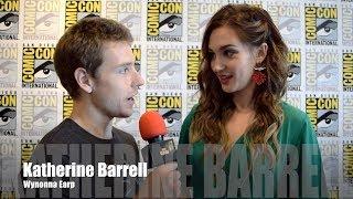 Wynonna Earp: Katherine Barrell at San Diego Comic Con 2018