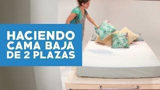 ¿Cómo hacer una cama baja de 2 plazas?