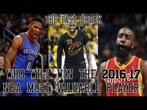 Who Will Win The 2016-17 NBA Most Valuable Player?