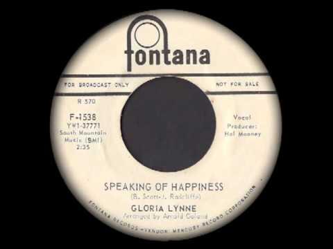 Gloria Lynne - Speaking Of Happiness