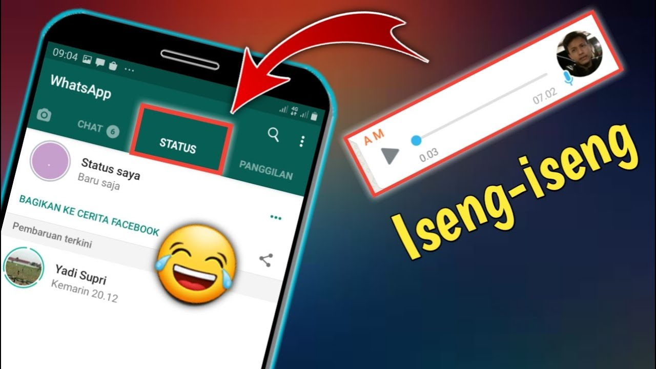 Cara Mengirim Rekaman Suara Ke Status Whatsapp Youtube