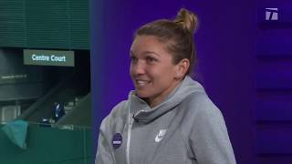 Simona Halep: 2019 Wimbledon Final Championship Win Tennis Channel Interview