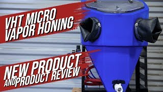 Wet Blasting Vintage Motorcycle Parts - Micro Vapor Honing Technologies Review