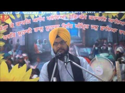 """ਲੋਕਾਂ ਨੇ """"ਦਾਲ ਪ੍ਰਸ਼ਾਦੇ"""" ਦਾ ਲੰਗਰ ਖਾਣ ਦੇ ਚੱਕਰ ਚ """"ਗੁਰ ਸ਼ਬਦ"""" ਦਾ ਲੰਗਰ ਖਾਣਾ ਛੱਡ ਦਿੱਤਾ...Baljeet Singh Delhi"""