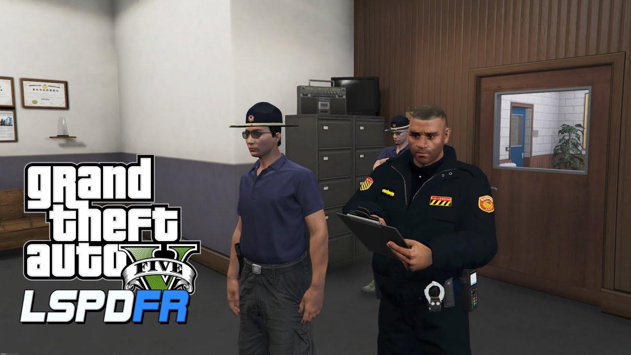 GTA 5 LSPDFR 警察模組 190 型男刑警行不行?