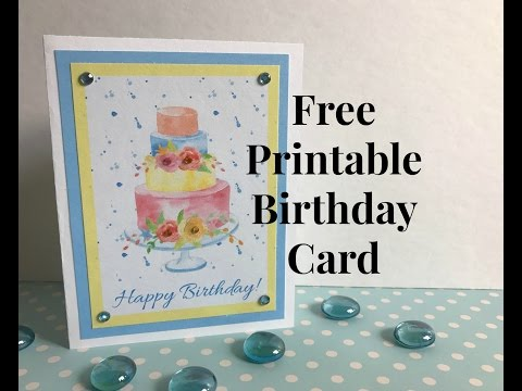 Permalink to Birthday Cards To Print