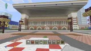 Minecraft/ Alabama football stadium