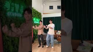 Jay B & Eric Nam  BTW dance challenge  갓세븐 제이비 || Daebak…