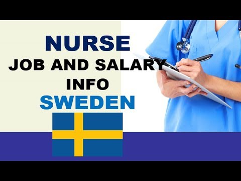 Nurse Job and Salary in Sweden - Jobs and Salaries in Sweden
