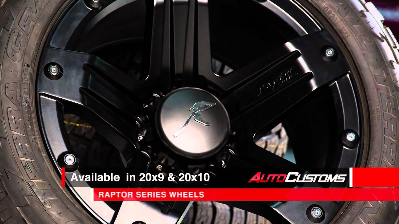 Raptor Series 311 Indecent Exposure Wheels Product Review At AutoCustoms