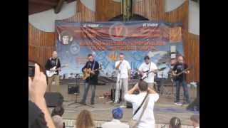 """Фестиваль """"Рутенія"""" - 2013.Марш УНСО. Виконує гурт """"Рутенія""""."""