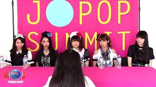 Interview with BAND-MAID at J-POP Summit 2017