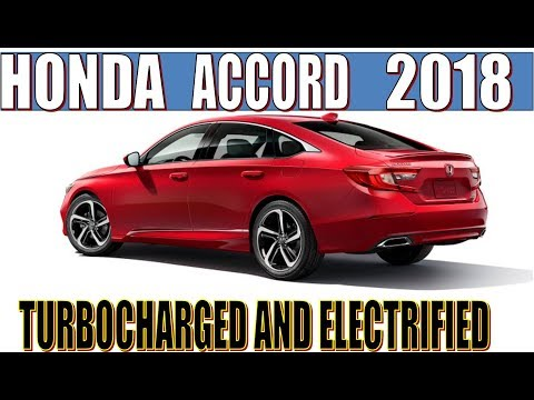 [HOT NEWS] 2018 Honda Accord : Turbocharged and Electrified - Move to all Four-Cylinder Power