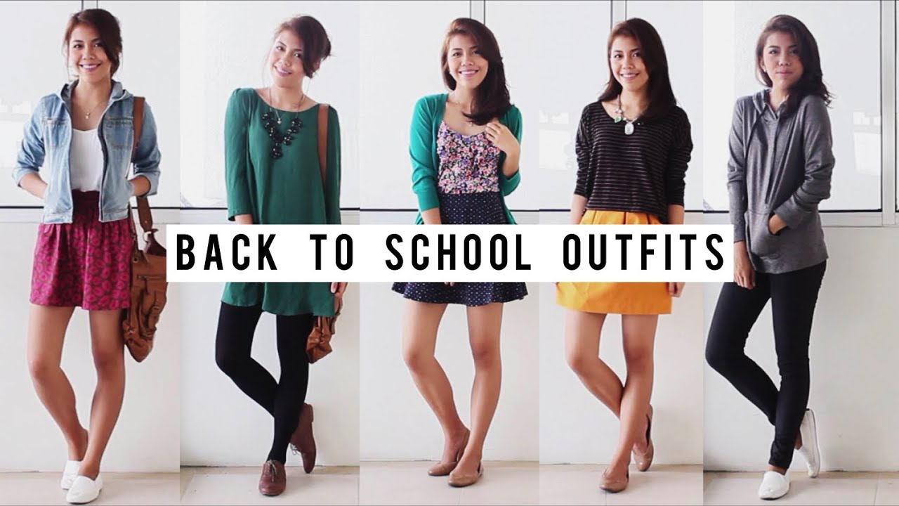 Back To School Outfit Ideas 2014 - YouTube