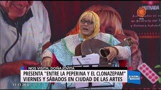 Doña Jovita, embajadora del congreso de la lengua