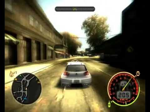 Баг на весь тюнинг в начале игры Need for Speed Most Wanted 2005