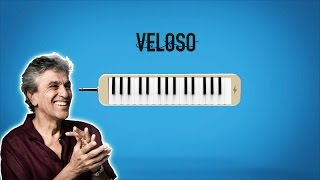 Aprende a Tocar CAPULLITO DE ALELI de Caetano Veloso - SALSA en PIANO (melodica)
