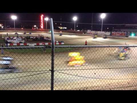 Tanner Whitaker Jr Sprint #75 Delta Speedway