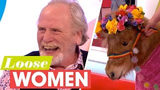 CBB's James Cosmo Is Reunited With Coleen and Tony the Pony! | Loose Women