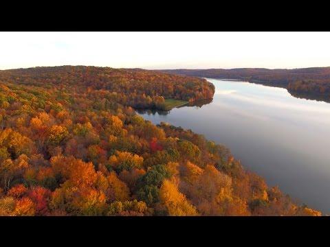 Autumn at Lake Arthur, Moraine State Park