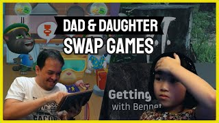 Dad And Daughter Swap Games #1   A TGT Father's Day Special