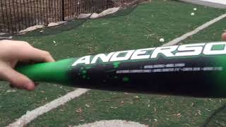 2018 Anderson Techzilla S-Series USA cage side bat review