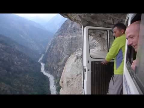 Insane Bus Ride in The Himalayas!-Getting To The Mountains I