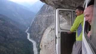 Insane Bus Ride in The Himalayas!-Getting To The Mountains Is Exciting As Climbing Them thumbnail