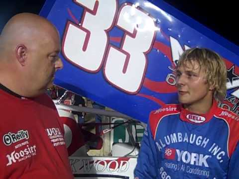 Austin Alumbaugh Victory at 24 Raceway