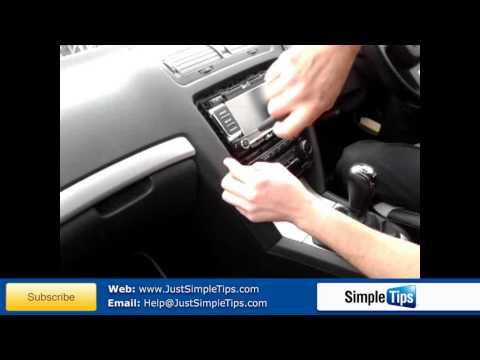 Auto Radioschacht Radioblende doppel DIN für SKODA Superb 2008+