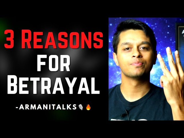3 Reasons Why someone Backstabbed Me