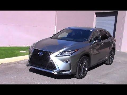 2017 Lexus Rx 450h Hybrid Performance Fuel Economy Run