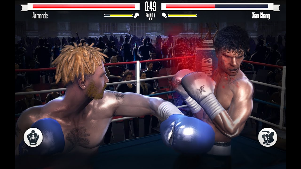 Best 3D Boxing Game for Android   iPhone   iPad   YouTube