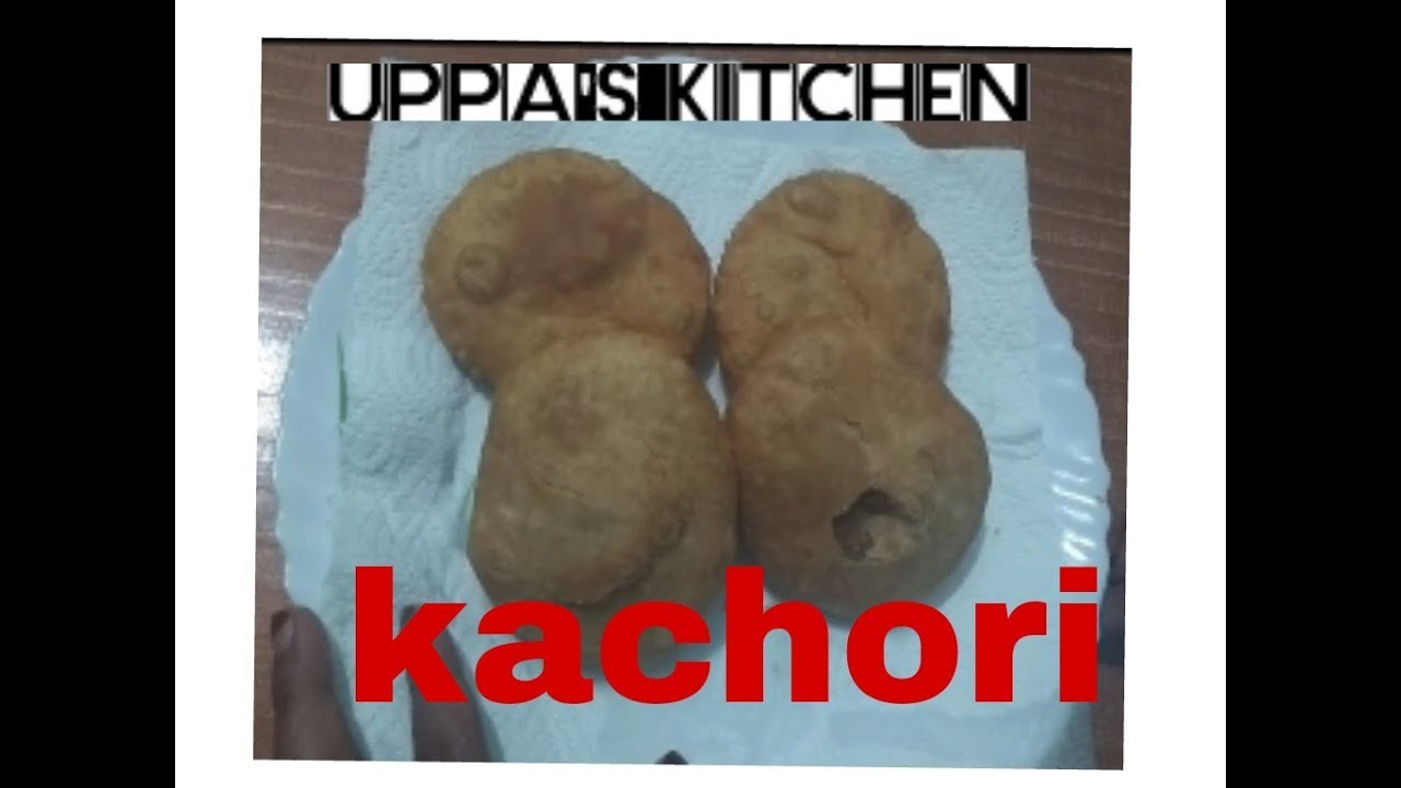 Kachori recipe in malayalam - YouTube