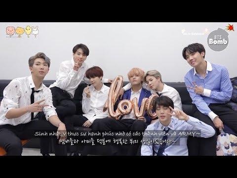 [Vietsub] Sinh nhật bất ngờ (?) của V – [BANGTAN BOMB] V's Surprise(?) Birthday Party – BTS (방탄소년단)