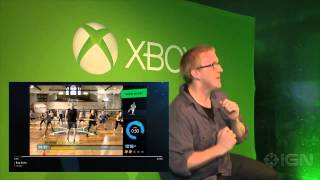 Xbox Fitness on Insanity Using Xbox One